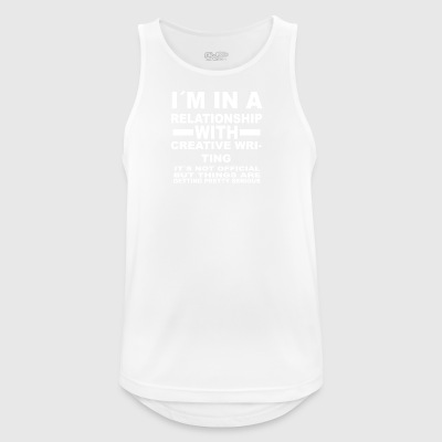 Relationship with CREATIVE WRITING - Men's Breathable Tank Top