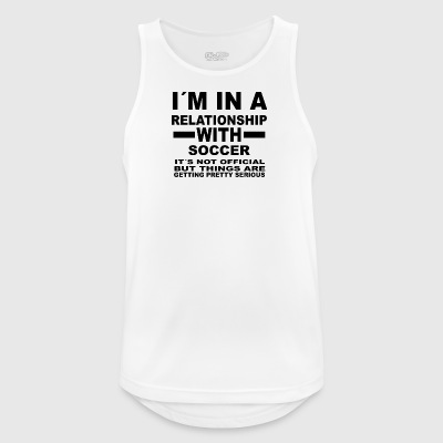 Relationship with SOCCER - Men's Breathable Tank Top
