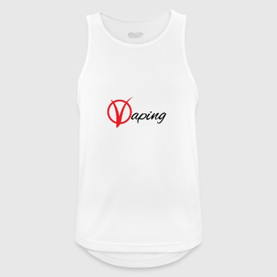 vaping - Men's Breathable Tank Top