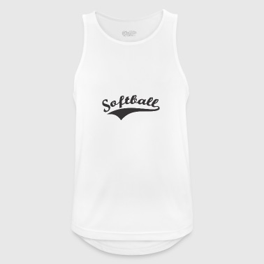 Softball - Männer Tank Top atmungsaktiv