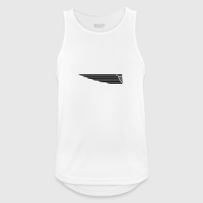 Eagle wing lung - Men's Breathable Tank Top