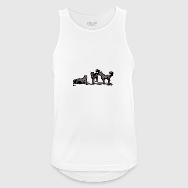 Wolf pack - Men's Breathable Tank Top