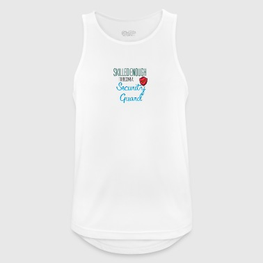 Security Guard - Men's Breathable Tank Top