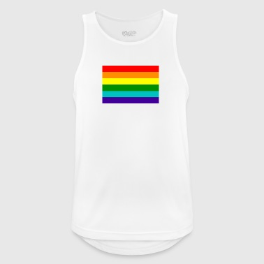 Gay pride rainbow flag - Men's Breathable Tank Top