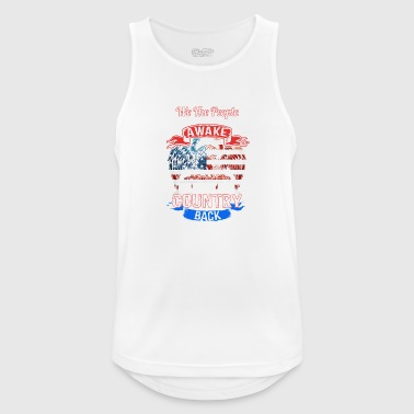 country - Men's Breathable Tank Top