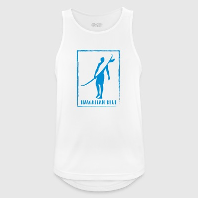 Hawaiian Blue Surfer logo - Men's Breathable Tank Top