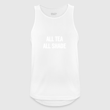 All Tea All Shade White - Men's Breathable Tank Top