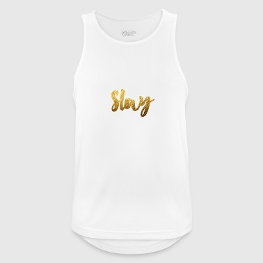 Slay Gold - Men's Breathable Tank Top