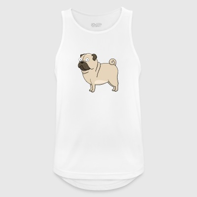 Dog - Pustende singlet for menn