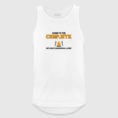 camping - Men's Breathable Tank Top
