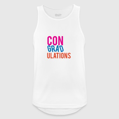 High School / Graduation: Congratulations - Men's Breathable Tank Top