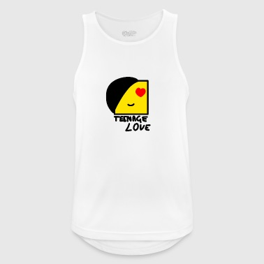 Emo Boy: Teenage Love - Pustende singlet for menn