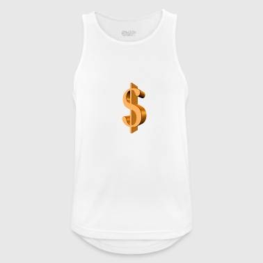 Dollar sign - Men's Breathable Tank Top