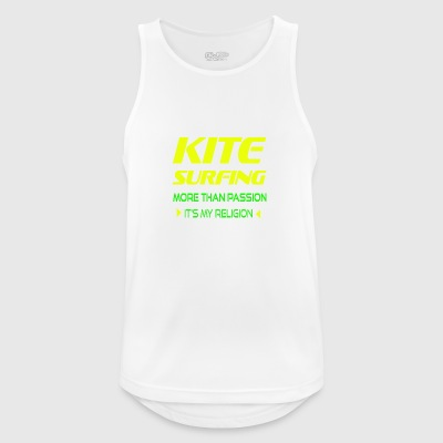 KITEBOARD PLUS DE PASSION - ITS MY RELIGION - Débardeur respirant Homme