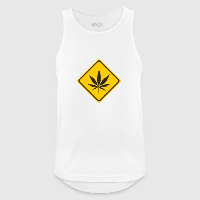 cannabis - Pustende singlet for menn
