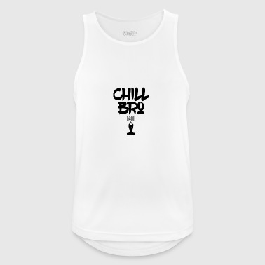 Chill Out Bro - Men's Breathable Tank Top