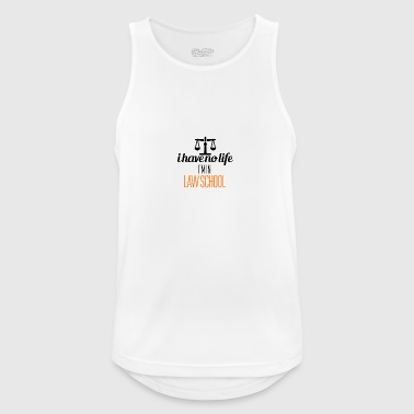 I'm in law school - Men's Breathable Tank Top