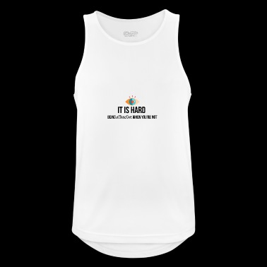 Being attractive - Men's Breathable Tank Top