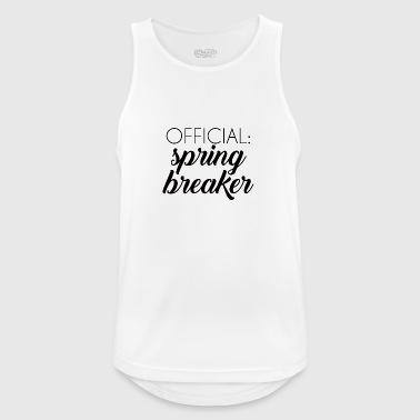 Springbreak / Springbreak: Official Springbreake - Men's Breathable Tank Top