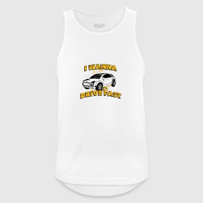 I wanna drive fast small ugly car - Men's Breathable Tank Top
