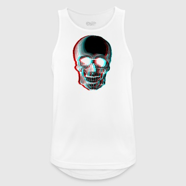 3D Skull - Men's Breathable Tank Top