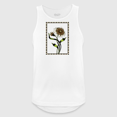 Flower - Men's Breathable Tank Top
