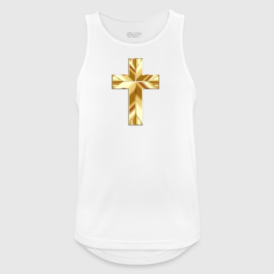 Golden cross - Men's Breathable Tank Top