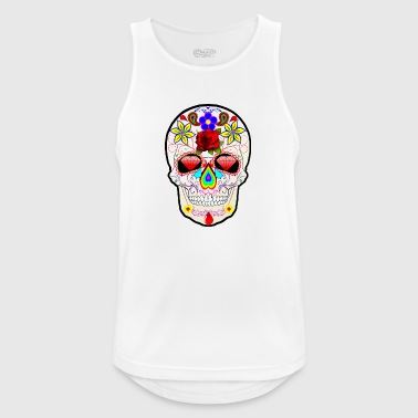 The Rock Skull - Mannen tanktop ademend
