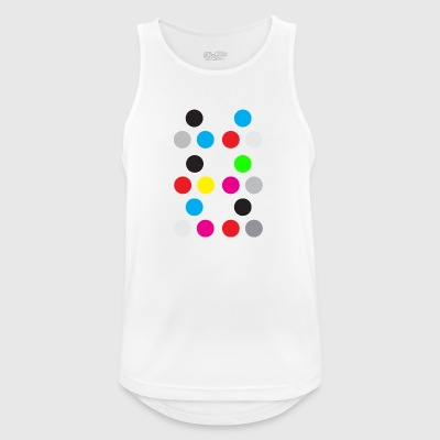 Points - Men's Breathable Tank Top