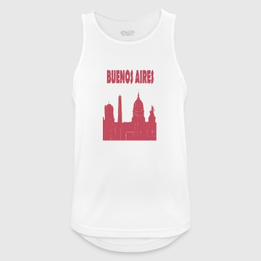 BUENOS AIRES City - Men's Breathable Tank Top