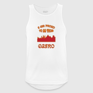 Cairo I am proud to be from - Men's Breathable Tank Top
