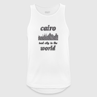 Cairo Best city in the world - Men's Breathable Tank Top