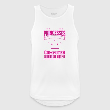 REAL PRINCESSES computer scientist - Men's Breathable Tank Top