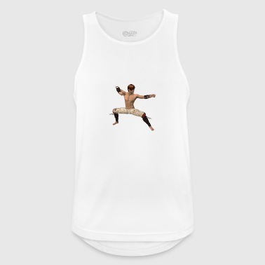 Fighter, asian - Men's Breathable Tank Top