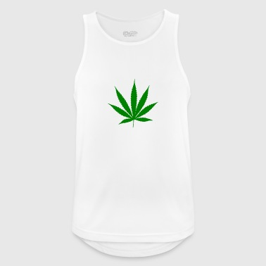 Weed leaf - Men's Breathable Tank Top