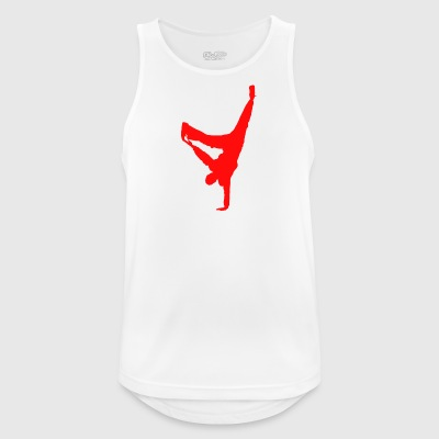 break dancing - Men's Breathable Tank Top