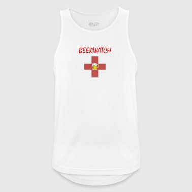 Beerwatch small logo - Men's Breathable Tank Top