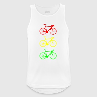 Bicycle traffic lights - Men's Breathable Tank Top