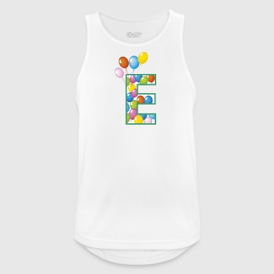 letter E balloons - Men's Breathable Tank Top