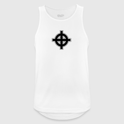 Celtic Cross - Pustende singlet for menn