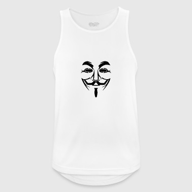 Anonymous Mask PNG Picture - Men's Breathable Tank Top