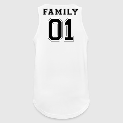 FAMILY 01 - Black Edition - Men's Breathable Tank Top