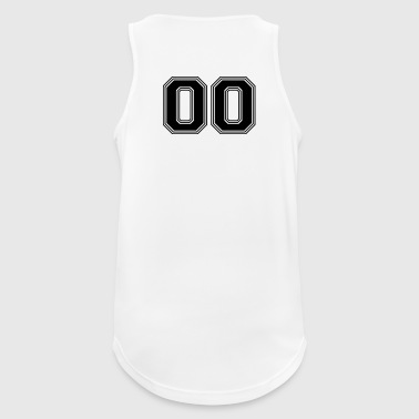 00_number_00_(s31) Sports wear - Men's Breathable Tank Top