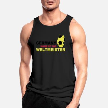 Party Germany home of the weltmeister - Mannen sport tank top