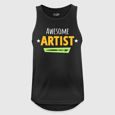 Artist - Men's Breathable Tank Top