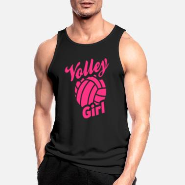 Volley volley girl - Men's Sport Tank Top