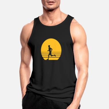 Sprinten Runner Sundown - Men's Sport Tank Top