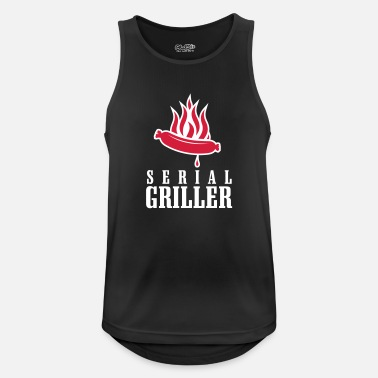 Beer Griller SERIAL GRILLER - Men's Sport Tank Top
