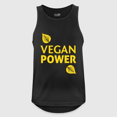 Vegan Power - Mannen tanktop ademend