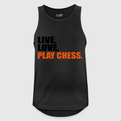 2541614 15412473 Chess - Men's Breathable Tank Top